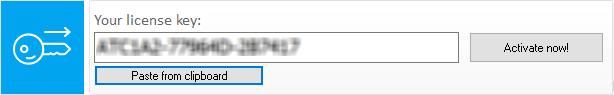 Activate Ashampoo Taskbar Customizer