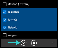 Add Languages in Windows 10 Mobile