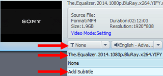 add subtitles to mp4 in wondershare video converter ultimate