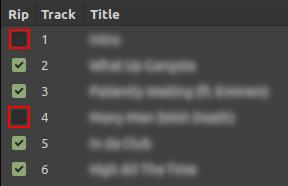Asunder tracks list
