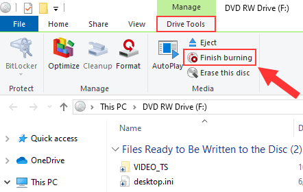 Burn Video_TS to DVD in Windows