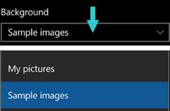 Change Background Start Screen Nokia & Microsoft Lumia Windows 10 Mobile