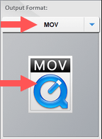 choose output format in hd video converter factory