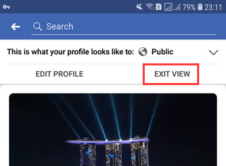 How to view your Facebook profile and page as someone else