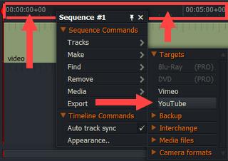 export video in lightworks