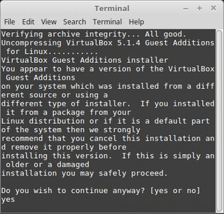install guest additions in linux mint in virtualbox 2