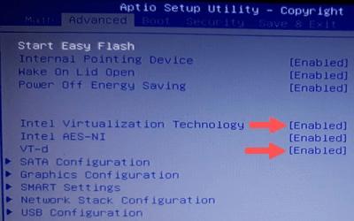 Intel Virtualization Technology and VT-d
