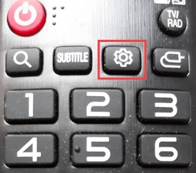 LG Smart TV settings button remote control
