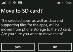 Move Apps and Games to SD Card on Windows Phone 8 and 8.1