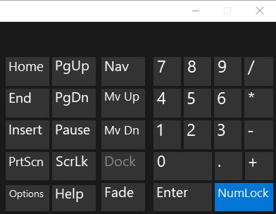 Num Lock key