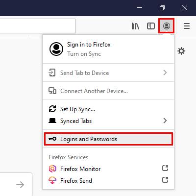 Open Firefox Logins and Passwords