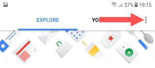 open google assistant settings