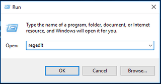 Open Windows 10 Registry Editor 2