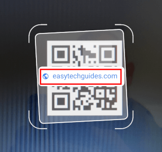 QR code with link