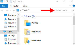 search for file in windows explorer