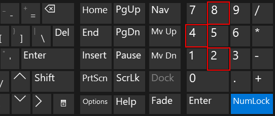 Use ALT codes on a laptop