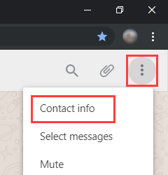 How to download and save a WhatsApp profile picture on a