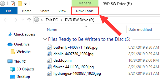 Windows 10 Drive Tools
