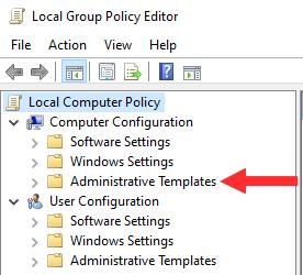 Windows Administrative Templates
