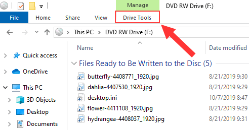 Windows Explorer Drive Tools