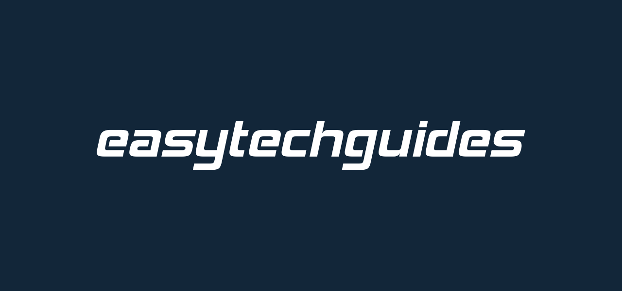 About EasyTechGuides